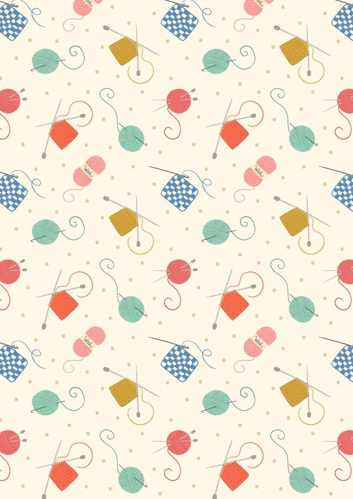 Crafts - Knitting & Crochet- Cream