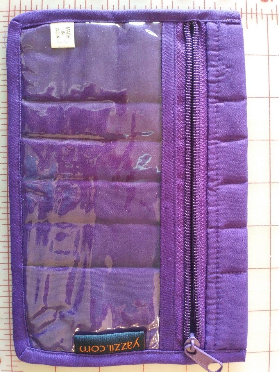 Purple Pouch 8 x 5