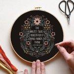 Embroidery Kit - Humblest Task
