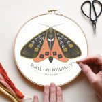 Embroidery Kit Dwell in Possibility