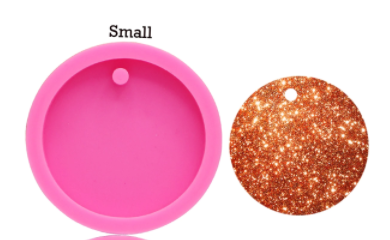 Small Round Circle With Hole Disk Mold