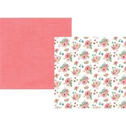 Romance Double-Sided Cardstock 12X12 Sweetheart