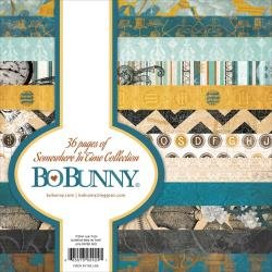 BoBunny Single-Sided Paper Pad 6X6 36/Pkg Somewhere In Time, 12 Designs/3 Each