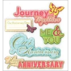Dimensional Stickers Anniversary Celebration
