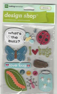 Making Memories Bug Life Stickers