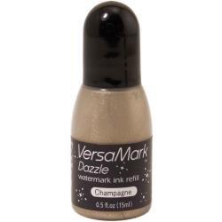 VersaMark Dazzle Watermark Ink Refill .5oz Champagne