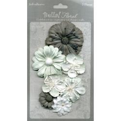 Bella! Paper Florals 7/Pkg