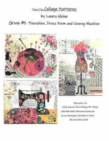 Teeny Tiny Collage Patterns Group #5