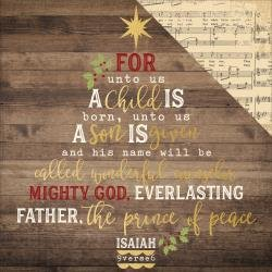 Simple Sets O Holy Night Specialty Cardstock 12X12  Peace On Earth
