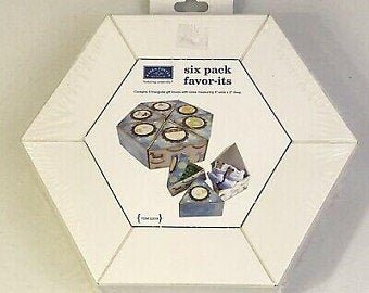Karen Foster Design 6 Count Favor-It's DIY Favor Boxes