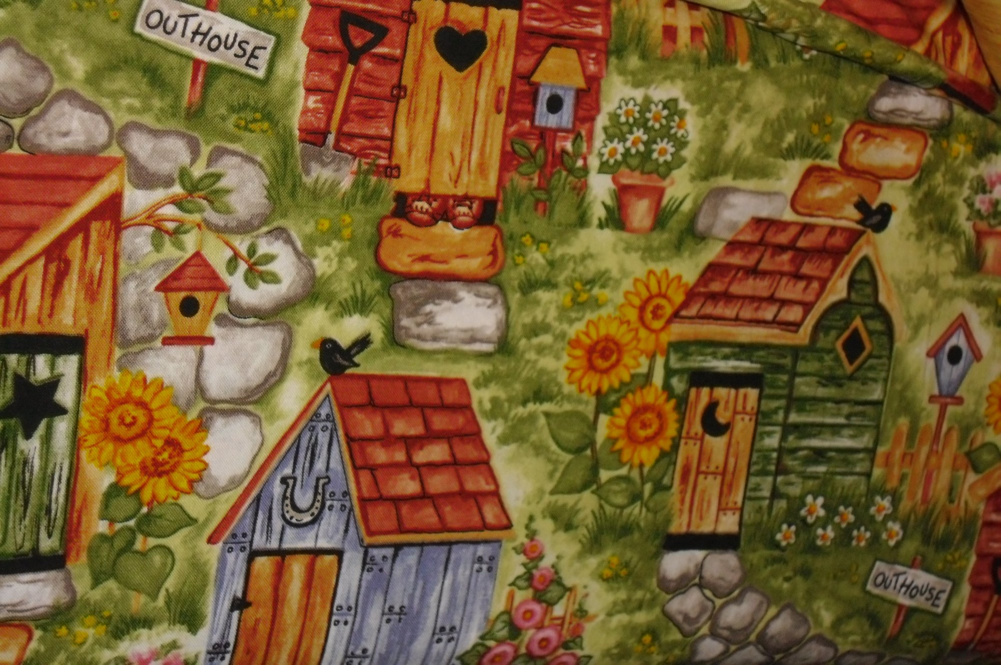 Outhouse Garden Blank BTR-5297-Sage