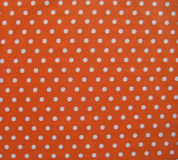 Clown dots on orange