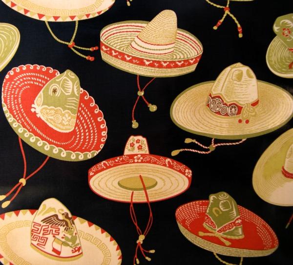 Sombreros oilcloth