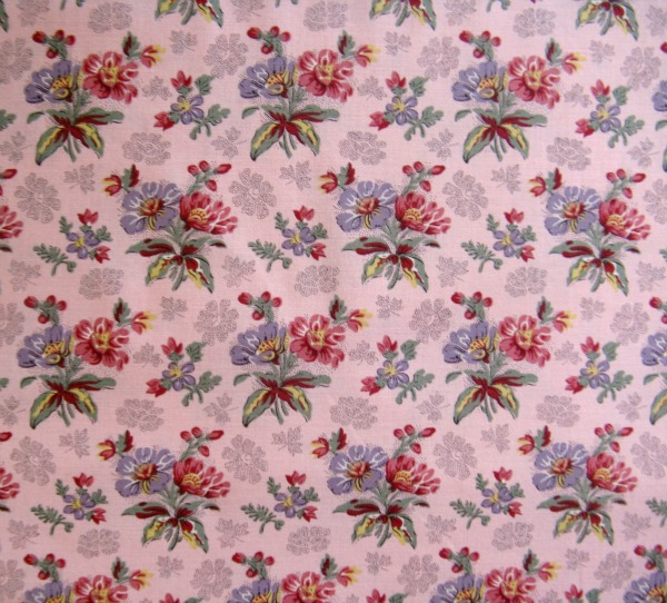 Mill Book 1830 pink floral