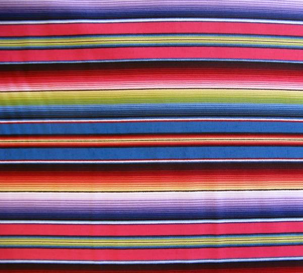 Fiesta serape stripe 'blue'