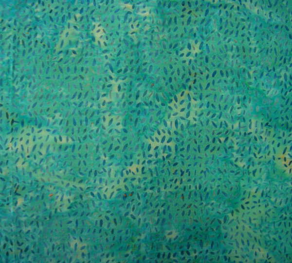 turquoise flecks