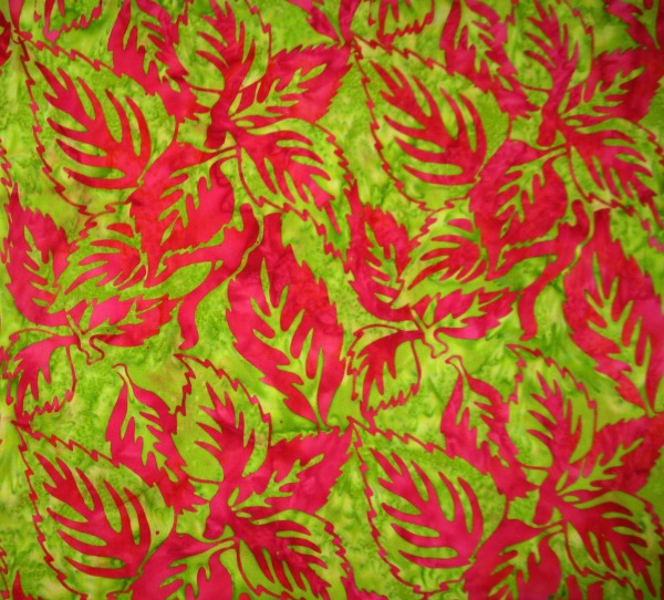 magenta leaves on lime
