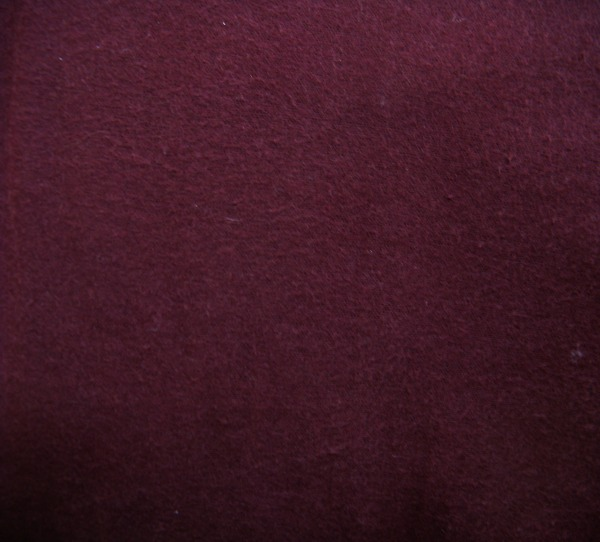 burgundy flannel 108 inches