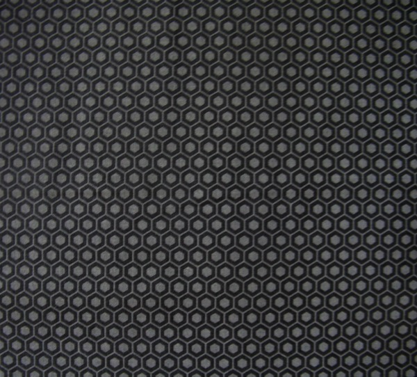charcoal tonal hexagons