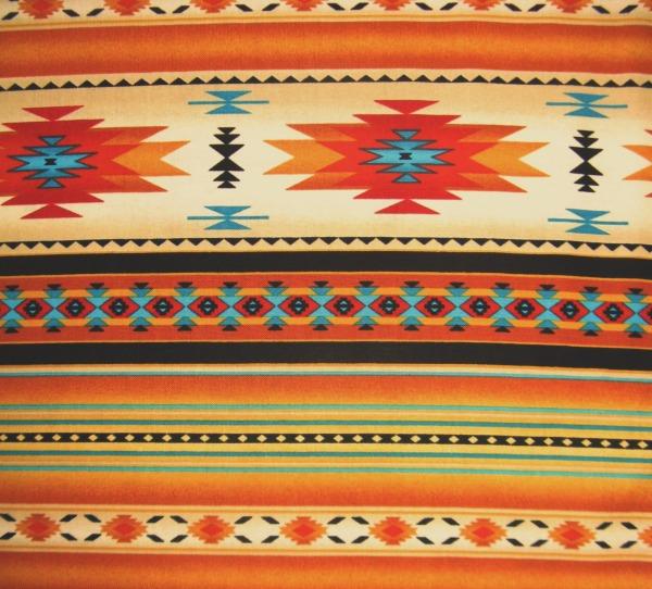 Tucson blanket stripe gold