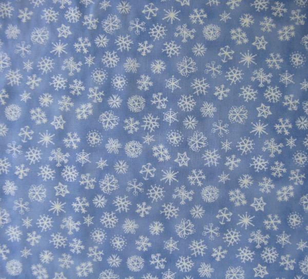 Kalinka snowflakes blue