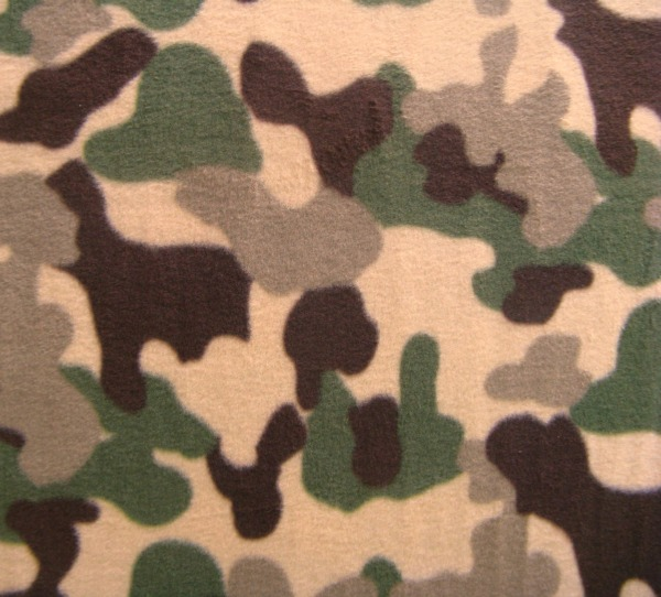 Camoflage fleece
