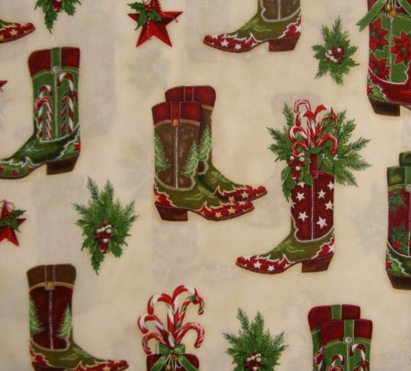 Holly Jolly cowboy boots