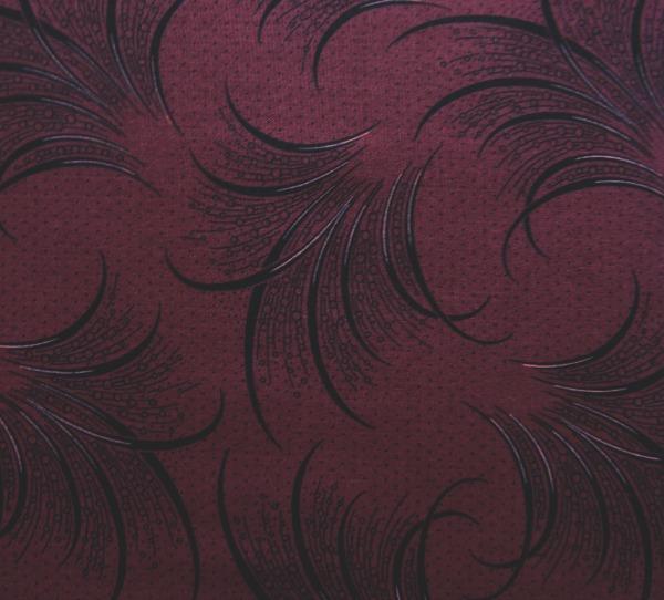 Downton Abbey ostrich plumes burgundy