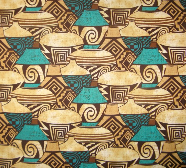 Pueblo Pottery turquoise