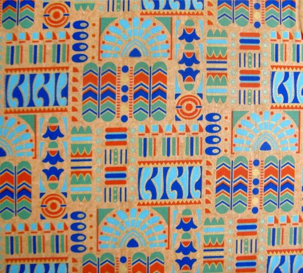 Downton Abbey Egyptian dec motifs