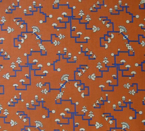 Downton Abbey Egyptian stylized flora