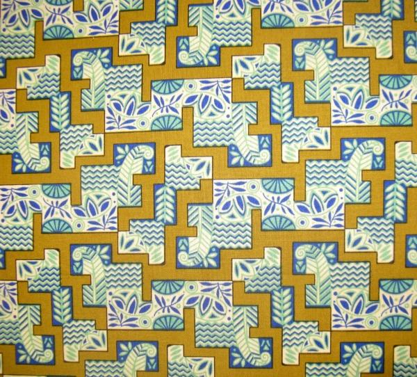 Downton Abbey Egyptian geometric motifs