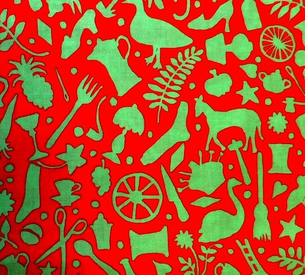 Folk Art red