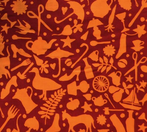 Folk Art rust