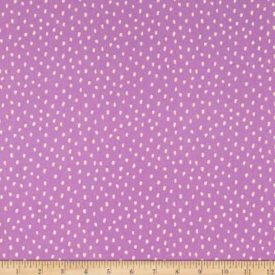 Saturday Dots lavender