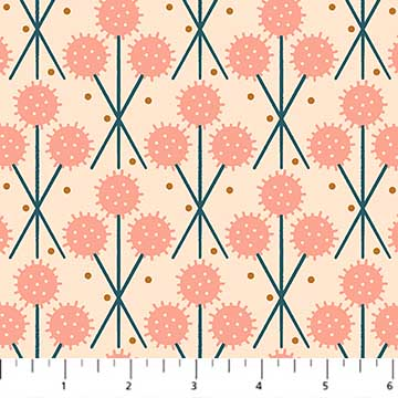 Treehouse dandelions peach