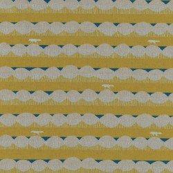 Echino oval stripe yellow