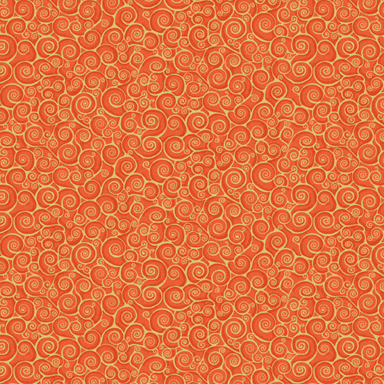 Rhapsody Scroll orange