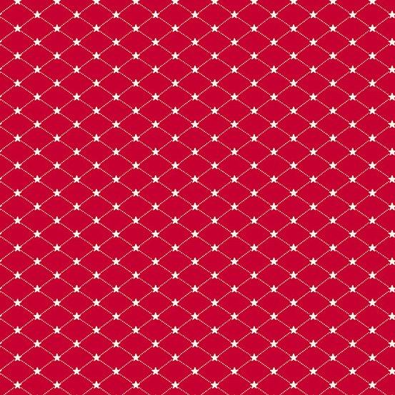 Allegiance Tufted Star red