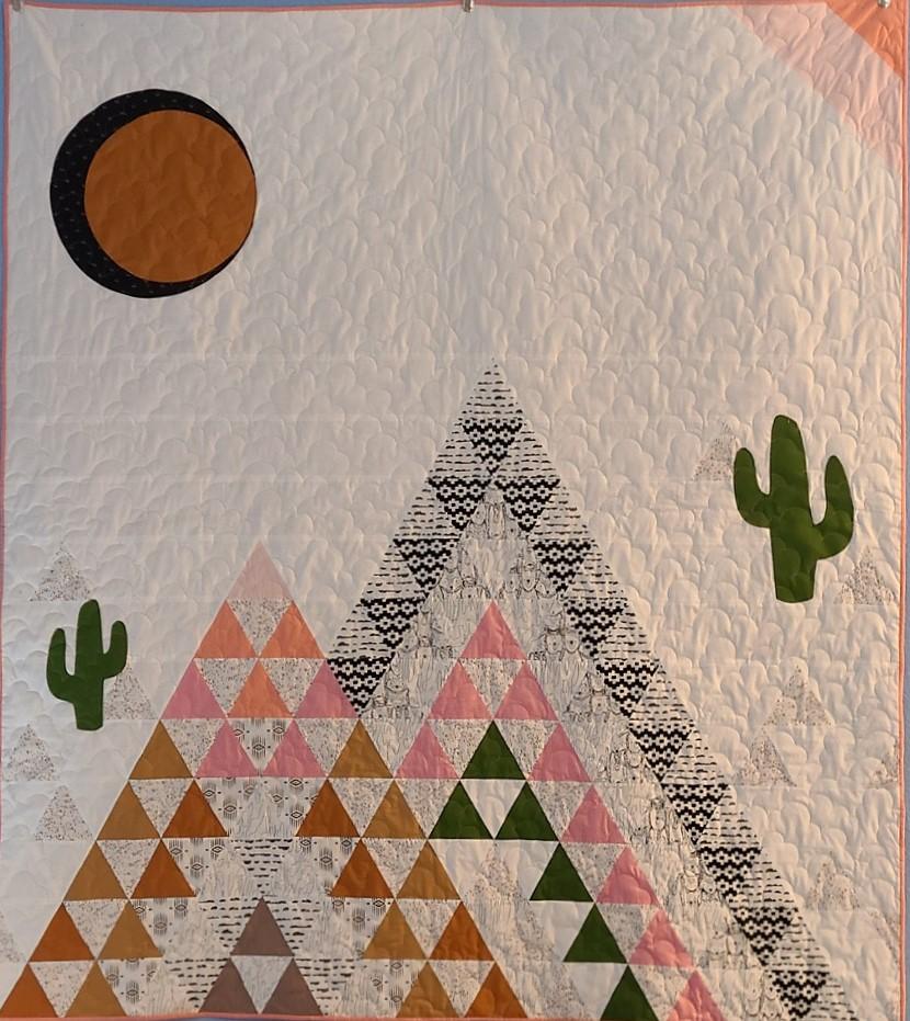 Little Mountains quilt kit BASIC