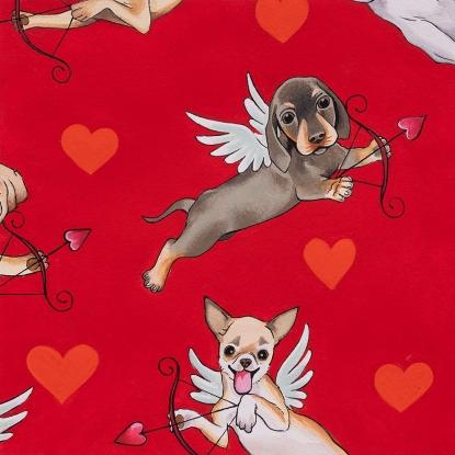 Puppy Love red