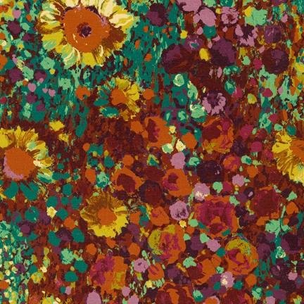 Painterly Petals w/Daisies harvest