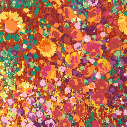 Painterly Petals w/Daisies summer