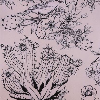 Hacienda Cactus tea/black