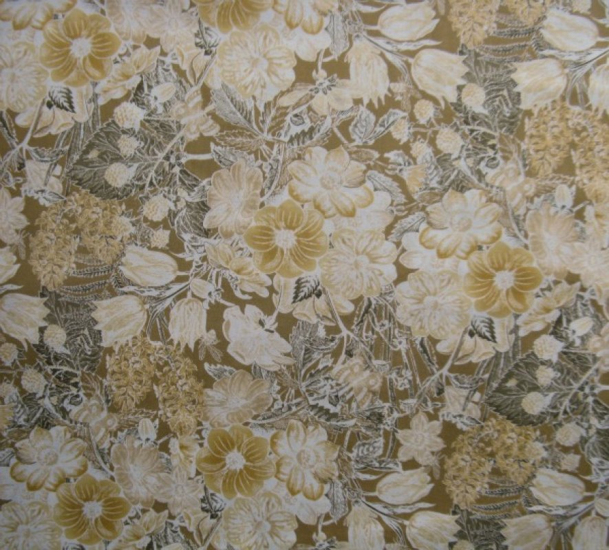 Botanica floral sand/grey