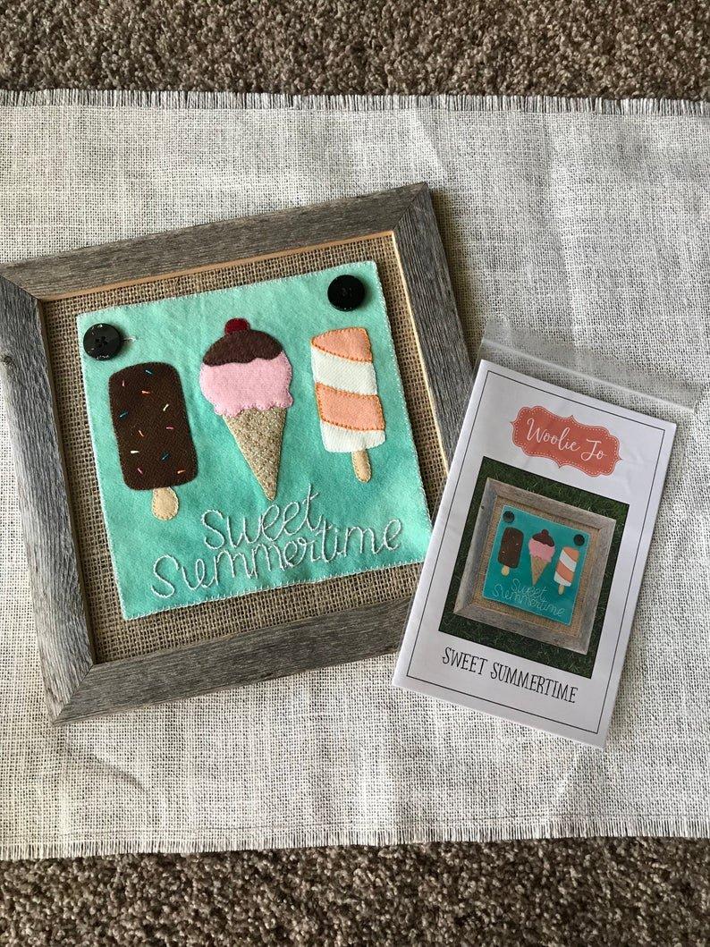 Woolie Jo/Sweet Summertime/Wool Pattern