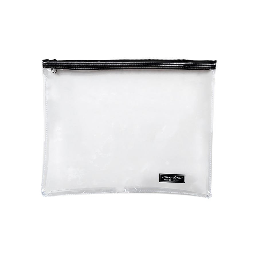 Clear Project Bag with Zipper/13 x 10/Moda