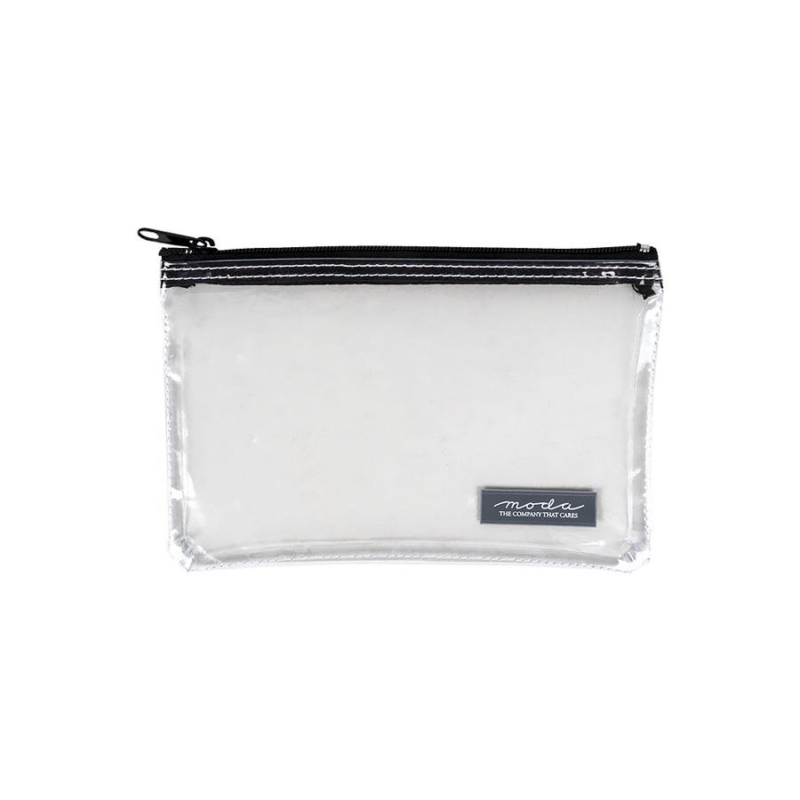 Clear Project Bag with Zipper/5 x 8 /Moda