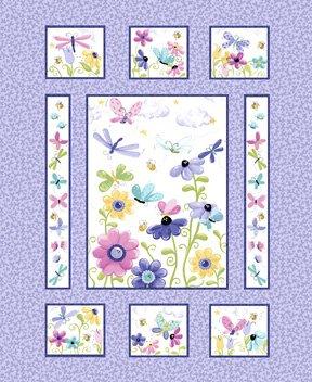 Flutter the Butterfly Quilt 36 Panel