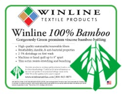 Winline Bamboo Batting/Queen Size